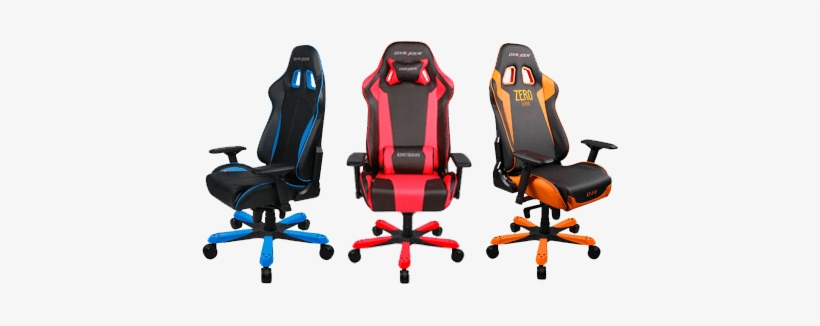 Dx Racer Chairs - Dxracer Oh/ks06/nb Office/computer Chair, transparent png #3628766