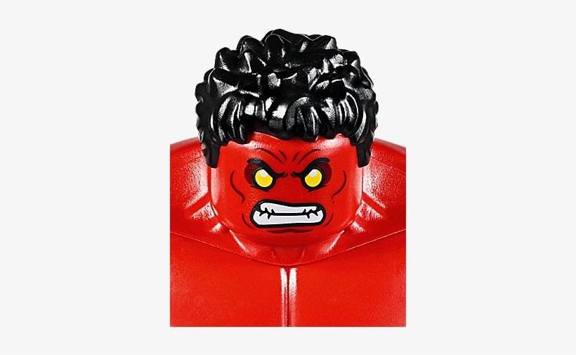 Red Hulk - Lego 76078 Marvel Super Heroes Hulk Vs. Red Hulk, transparent png #3633962