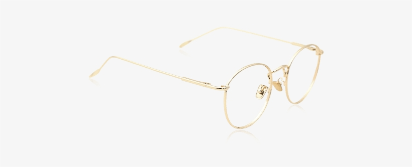 a3bb0918c30 Round Vintage Prescription Eyeglasses With Golden Frame - Etnia Barcelona  Jena Cat Eye Eyeglasses