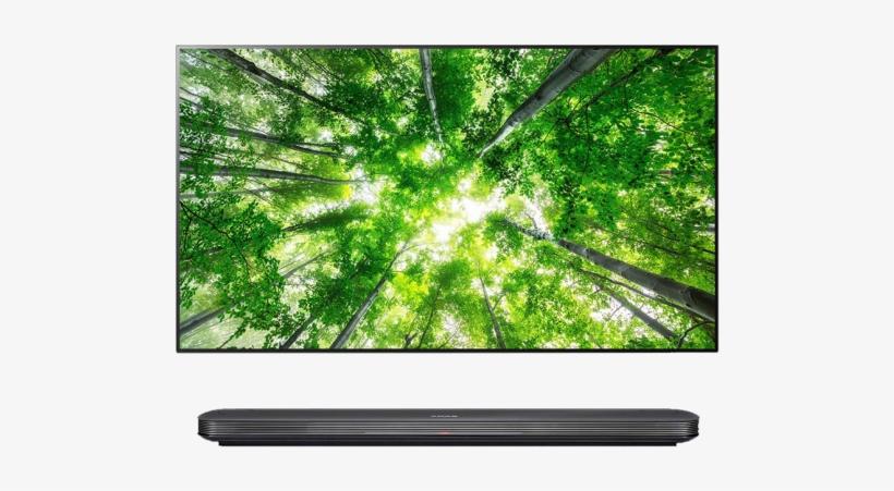 Lg Oled77w8p 77 Inch G Signature Oled Tv W8 4k Hdr - Led Tv, transparent png #3637966