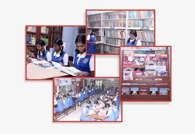 Religious Books, Periodicals And Reference Books Catering - Holy Cross Anglo Indian High School Tuticorin, transparent png #3639841