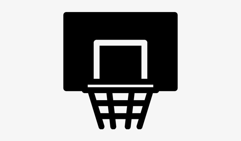 Basketball Basket Vector - Canasta Baloncesto Icono Png, transparent png #3640007