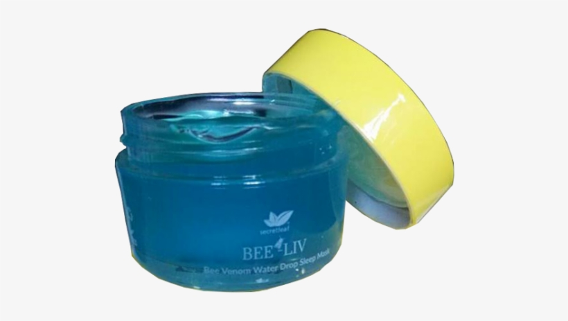 Bee-liv Bee Venom Water Drop Sleep Mask Is A Beautifully - Water, transparent png #3640608