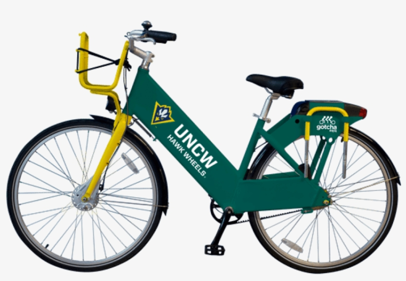 Bike Share Program Brings Rentable Bikes To Uncw With - Gotcha Bike, transparent png #3641060