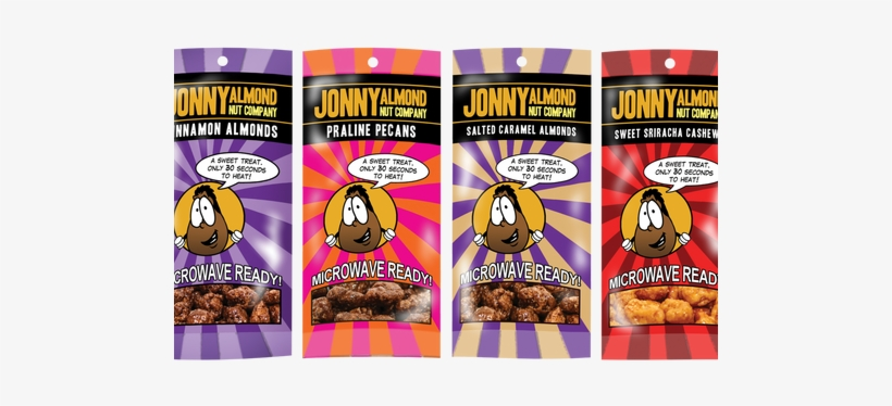Variety Pack Of Single Serve Heat & Eat - Jonny Almond Salted Caramel, transparent png #3641798