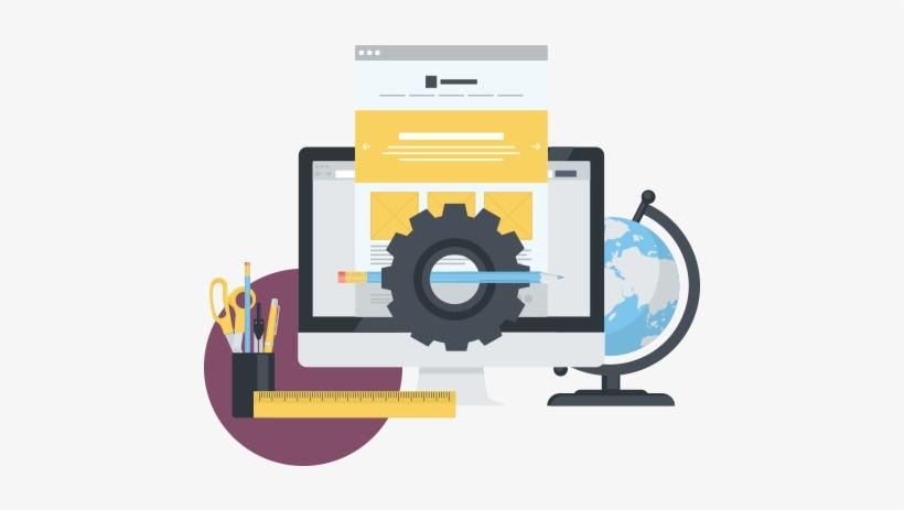 Web Development Clipart Devlo - Website Development Clip Art, transparent png #3647323