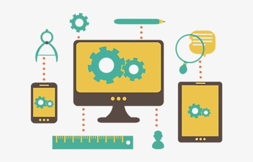 Web Development Clipart Website - Web Design And Development Vector, transparent png #3647454