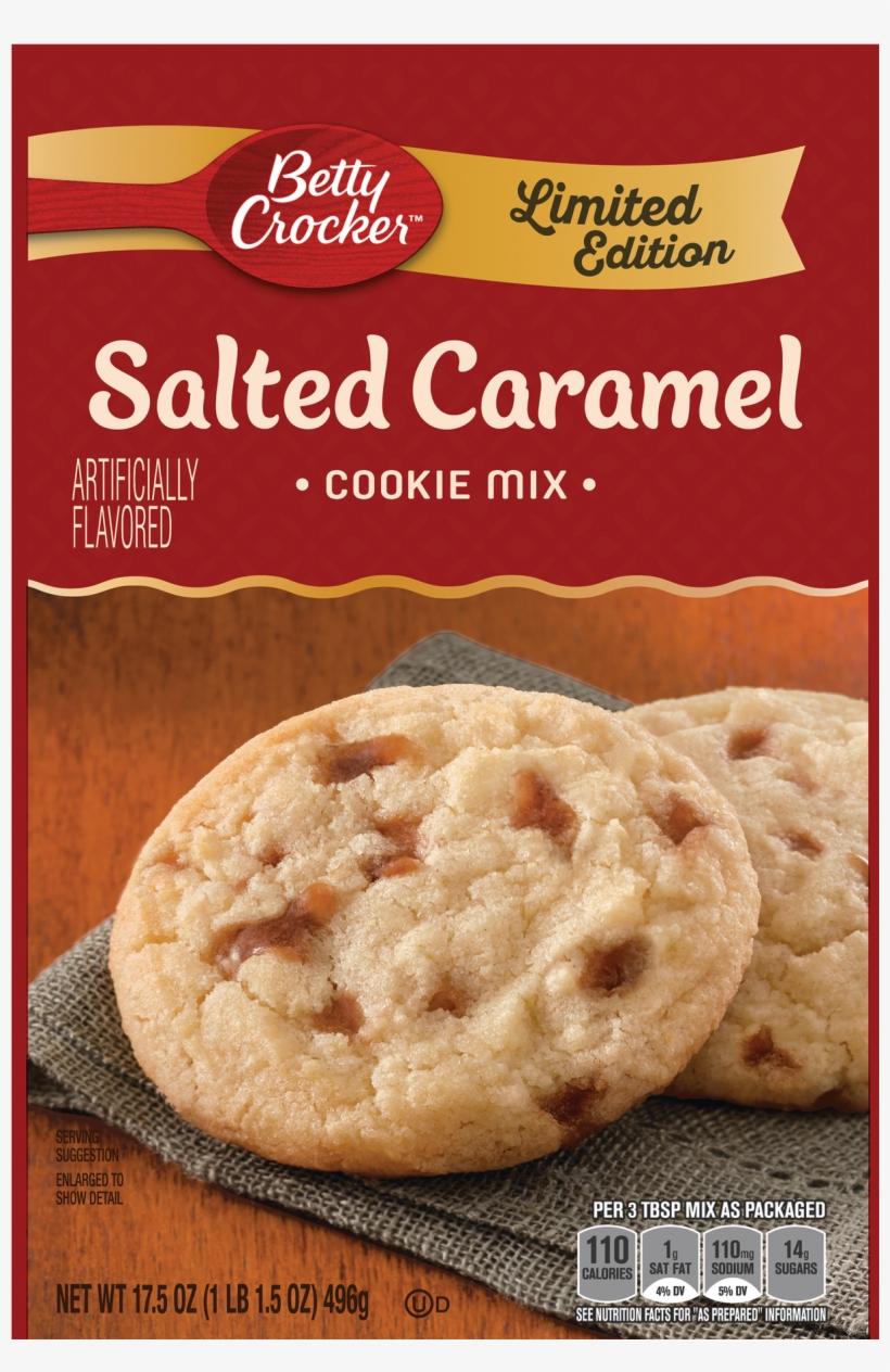 Betty Crocker Salted Caramel Cookie Mix, transparent png #3649063