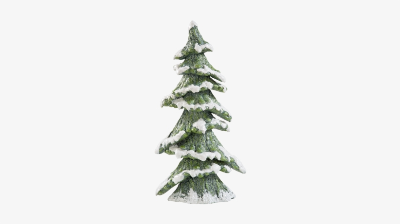 Fir Tree With Snow, - Christmas Tree, transparent png #3649796