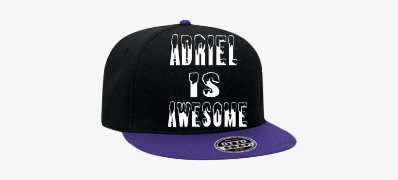 Is Awesome Thug Life - Wool Blend Flat Visor Pro Style Snapback Caps, transparent png #3650015