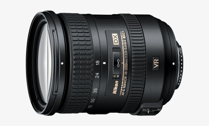 Af S Dx Nikkor 18 200mm F/3 - Nikon 18 200, transparent png #3650994