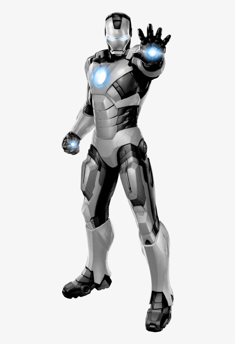 Iron Man Mark Ii - Iron Man Avengers Cardboard Standup (iron Man), transparent png #3651212
