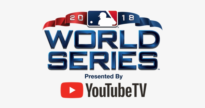 2018 World Series Logo Youtube Tv - World Series Tickets 2018, transparent png #3653561