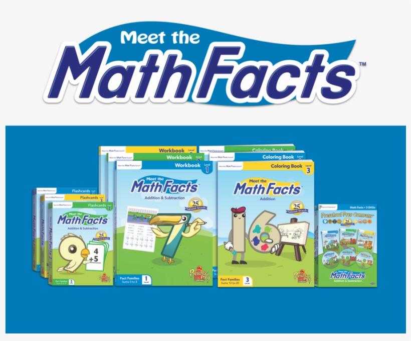 Download Preschool Prep Company, Meet The Math Facts - Preschool Prep Math Facts Level 1, transparent png #3654248