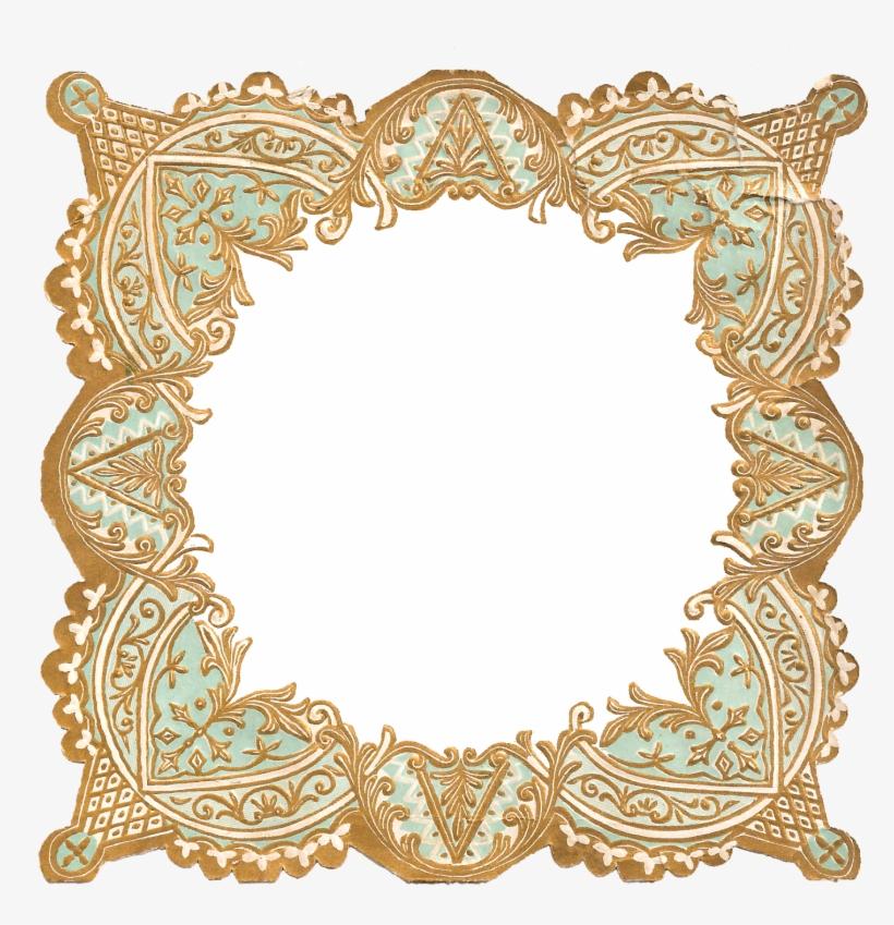 Border Frame Image Craft Supply Digital Download - Decorative Frame Border Png, transparent png #3657431