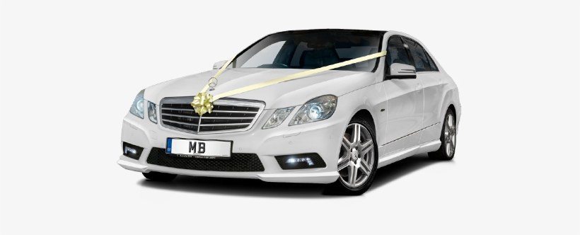 We Offer Car Hire With Chauffeur Service For Wedding - Mercedes Wedding Car Png, transparent png #3661366