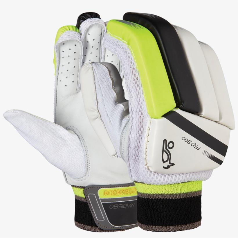 Kookaburra Obsidian Pro 900 Batting Gloves - Kookaburra Wicket Keeping Gloves, transparent png #3661507