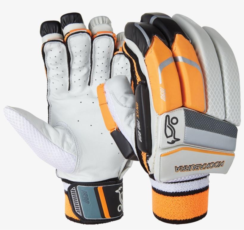 Kookaburra Onyx Pro Gloves, transparent png #3661605