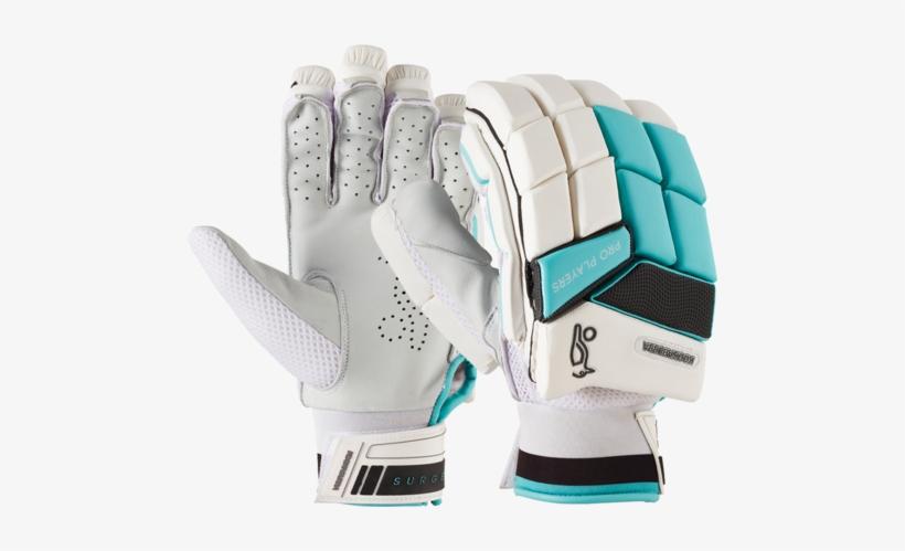 Kookaburra Surge Pro Players Batting Gloves - Kookaburra Cricket, transparent png #3662683
