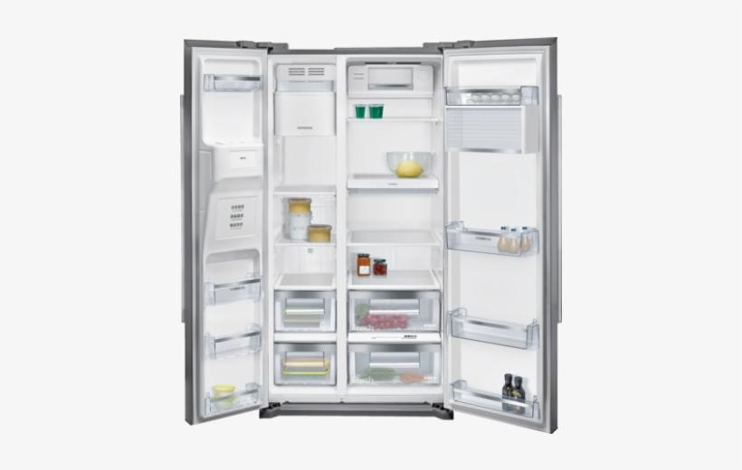 Siemens Side By Side Fridge Freezer Free Transparent Png Download