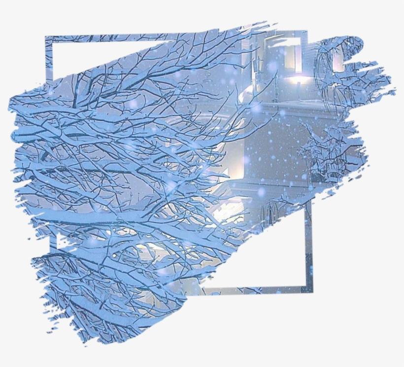 366 3668211 frame frames background kpop blue winter k pop