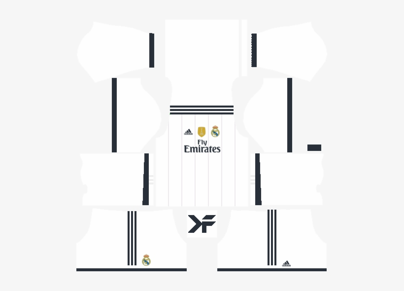 best service 487be d1b83 Real Madrid Fantasy Home Kit - Dls 18 Kits Real Madrid ...