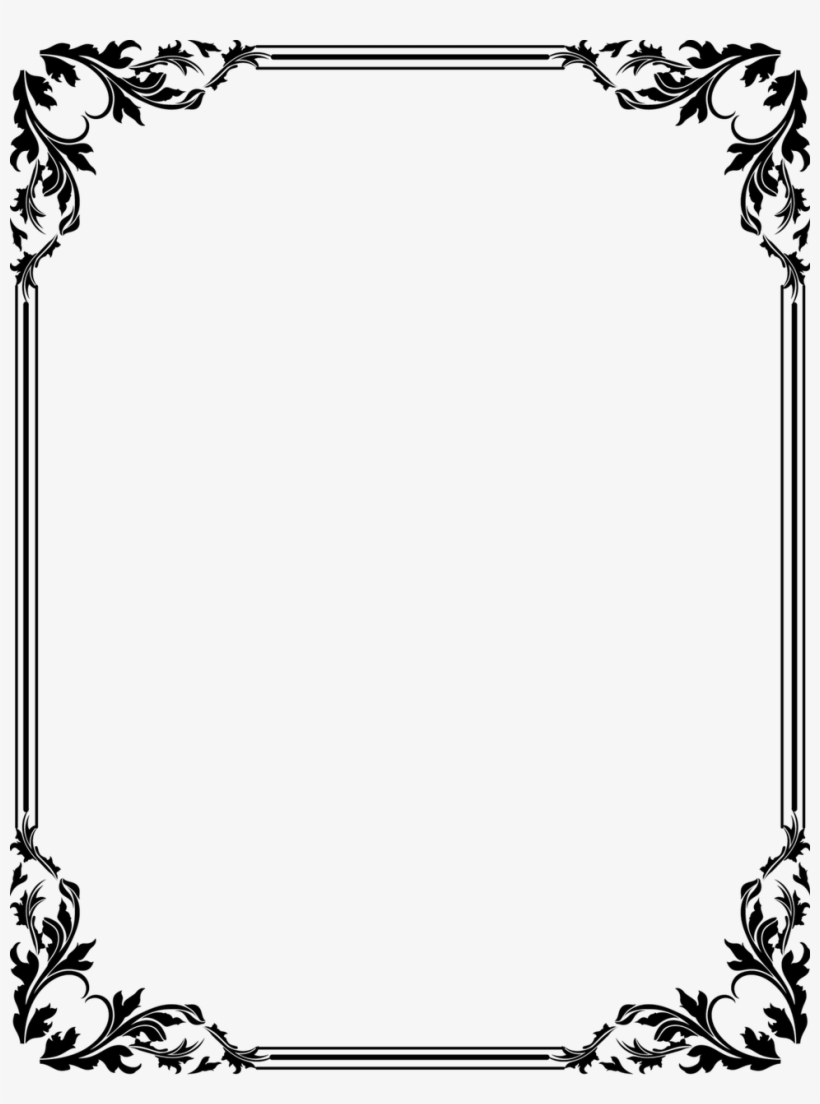 Page Borders Designs Cliparts Co Latest Border Clipart - Frame Border, transparent png #3670915