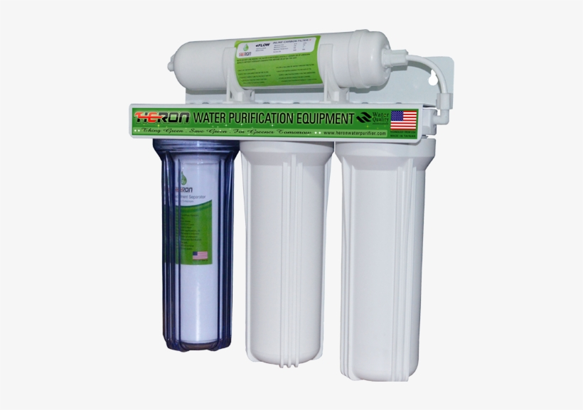 4 Stages Heron Water Purifier - Water Purifier Tw 1250, transparent png #3678385