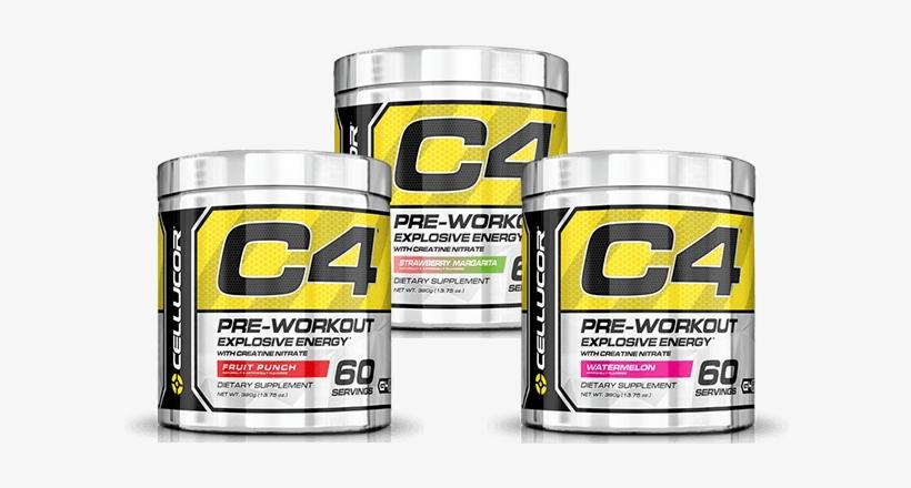 C4 Explosive Energy Gen 4 - Cellucor C4 60 Servings - Pre-workout, transparent png #3678776