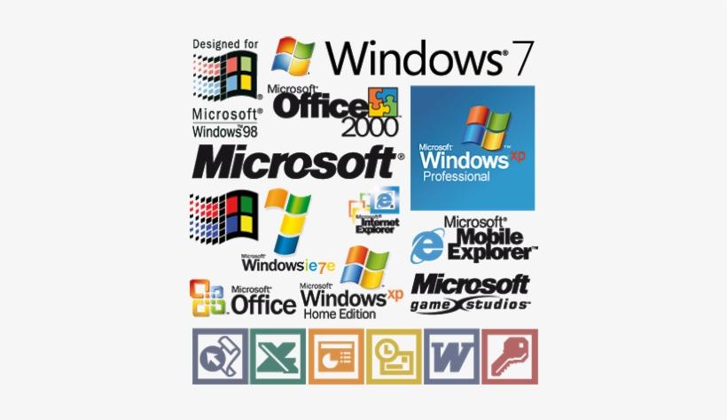 """microsoft Windows Logos"" - Logo All Windows Microsoft, transparent png #3684449"