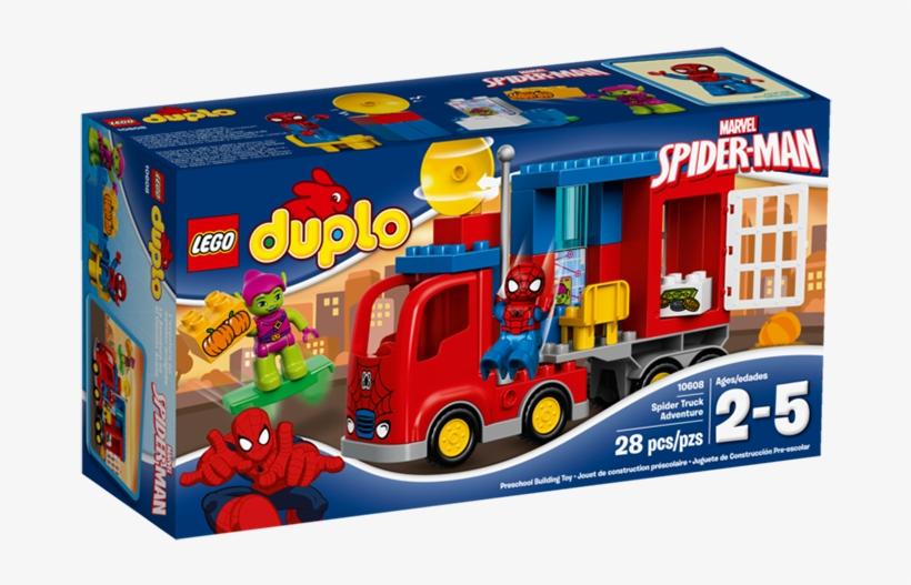 Lego® Duplo® Marvel Spider-man Spider Truck Adventure - Lego Duplo Marvel Spider-man Spider-truck Adventure,, transparent png #3685335