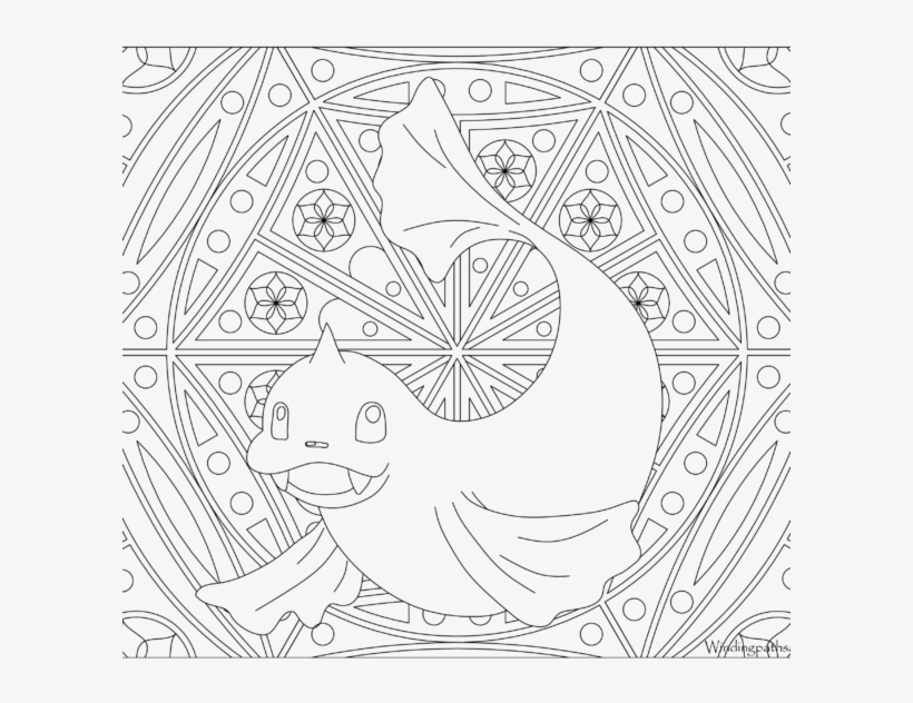 Adult Pokemon Coloring Page Dewgong - Pokemon Coloring Pages Adult, transparent png #3686090