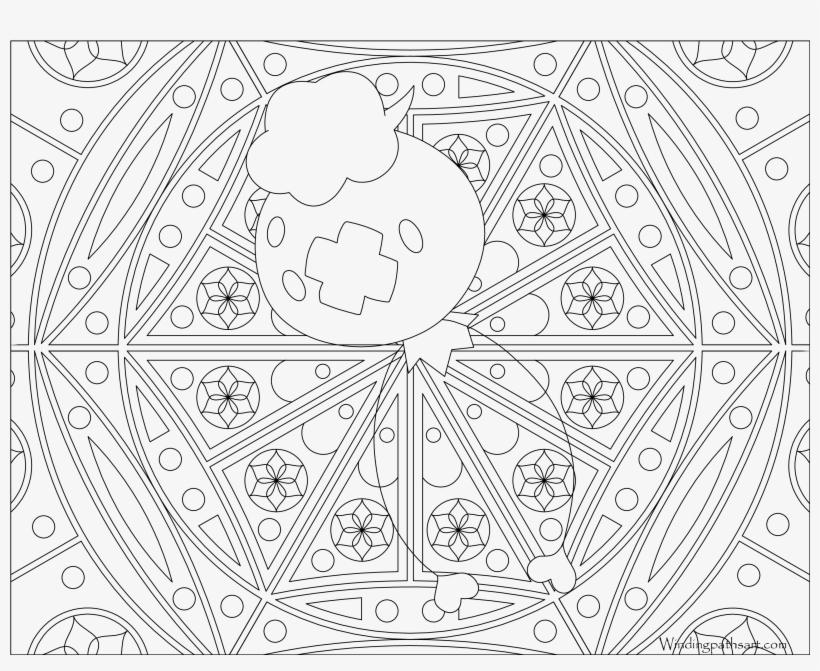 Water Pokemon Coloring Pages - Adult Pokemon Coloring Page, transparent png #3686636