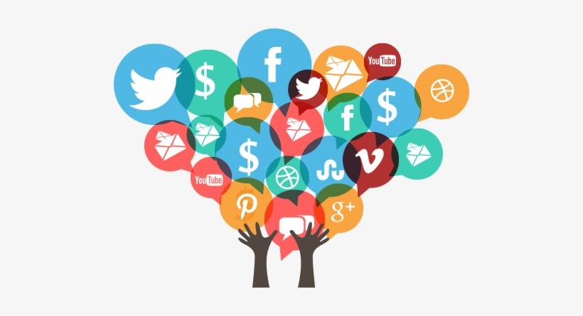 Download Best Social Media Marketing Tips - Social Media Transparent Background PNG Image with No Background - PNGkey.com