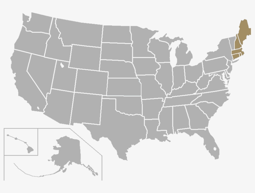 Usa Map Blank Png Clipart Library Library Blank United States Ma