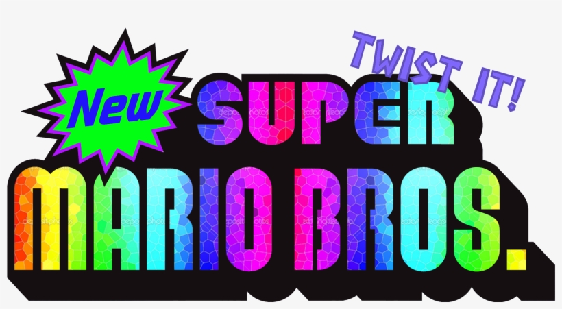 New Super Mario Bros Twist It New Super Mario Bros Ds Png Free