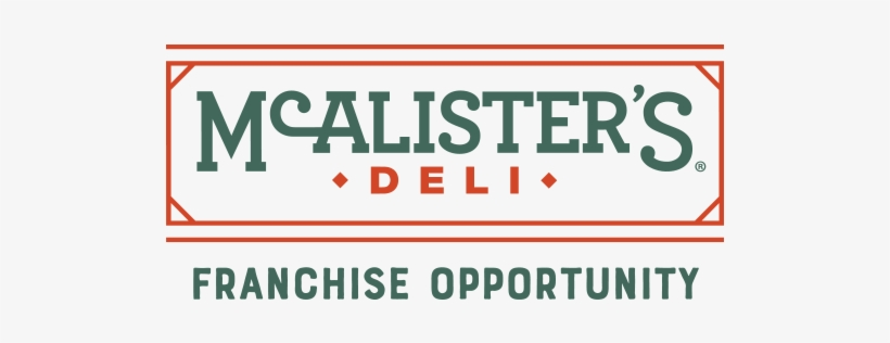 Mcalister's Deli - Mcalister's Deli New Logo, transparent png #3698954