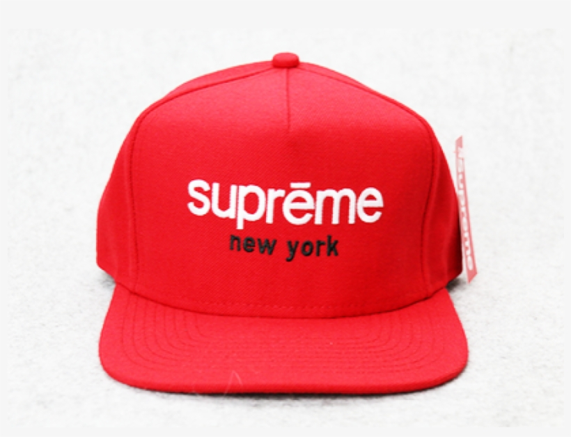 f35e8695ae2 Supreme Ny Box Panel Snapback Hat Red - Hat - Free Transparent PNG ...