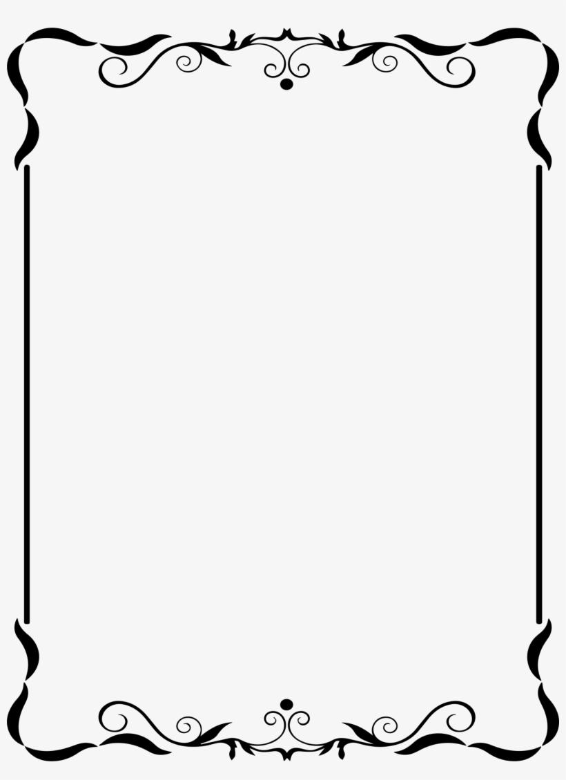 Clipart Free Congratulations Clip Art Frames - Elegant Classy Page Borders, transparent png #370821