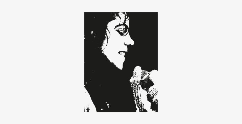 Michael Jackson Face Logo - Michael Jackson Logo Vector, transparent png #373500