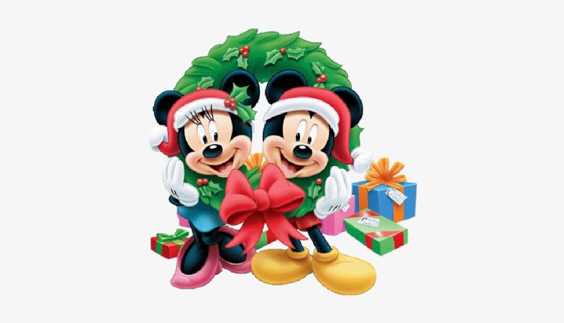 Disney Christmas Cartoon Characters 9 Christmas - Mickey Mouse Christmas Png, transparent png #374322