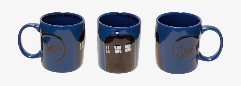 Tardis - Dr Who Mug Tardis, transparent png #375463
