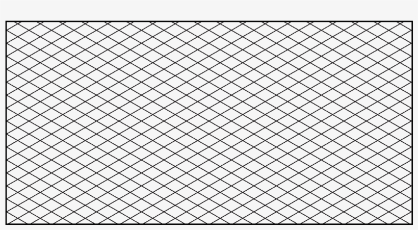 Grid Drawing Paper - Isometric Grid, transparent png #375786