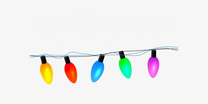 Banner Free Library Garland Vector Light - Clip Art, transparent png #376493
