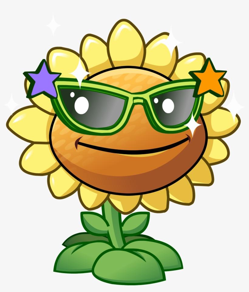 Sunflower Clipart Plant Vs Zombie - Plants Vs Zombies Flor, transparent png #376544