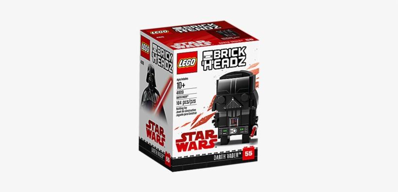 Darth Vader Brickheadz, transparent png #376848