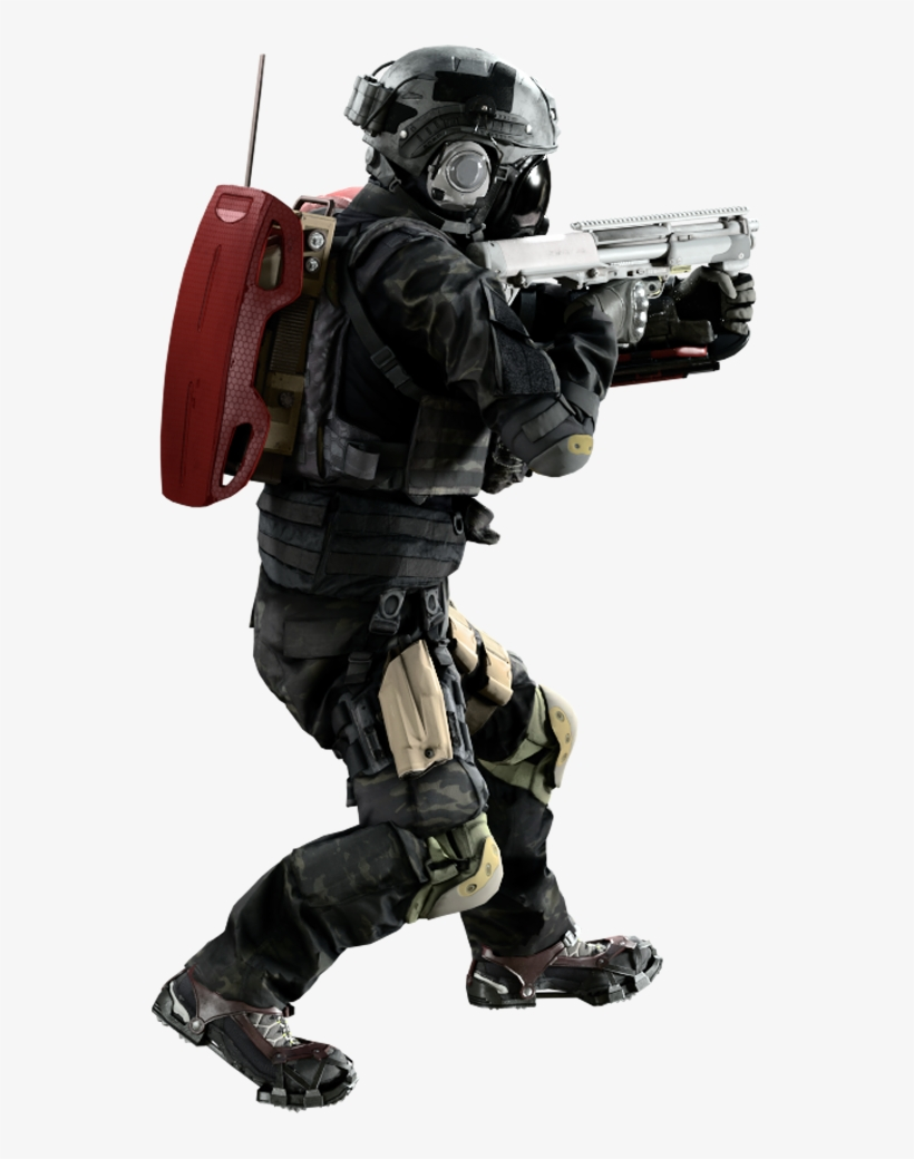Resident Evil Umbrella Corps Soldier - Free Transparent PNG Download