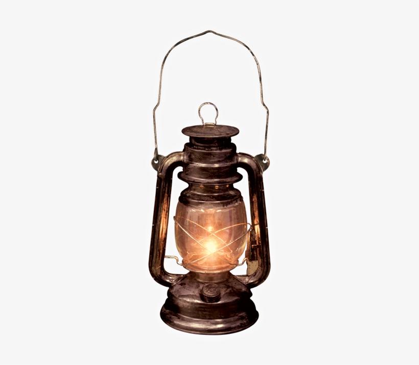 Light Up Old Lantern With Led Light / Seasons Usa Inc - Lantern Png, transparent png #377754