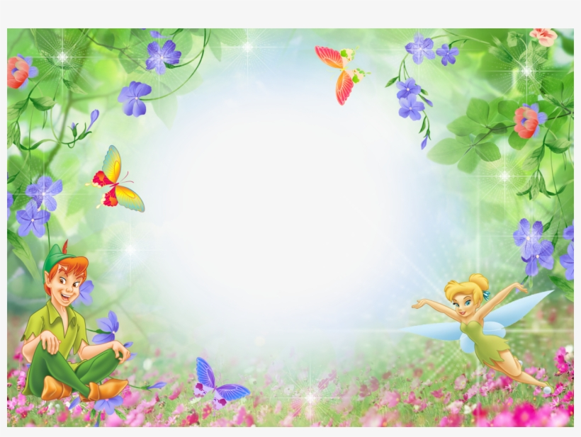 Tinkerbell Png For Kids Peter Pan Invitation Template Transpa 378499