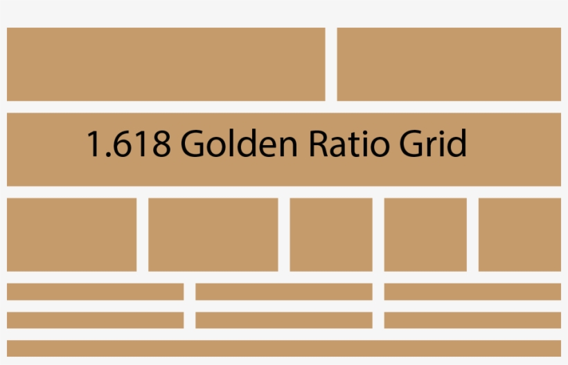 Learn How To Use Adobe Illustrator To Create Build - Website Layout Golden Ratio, transparent png #379778